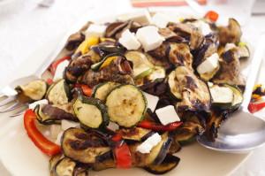 sałatka z grolowanych warzyw 300x199 Sałatka z grillowanych warzyw