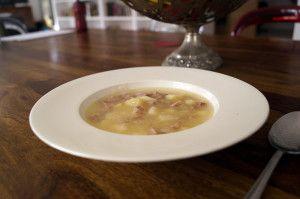 Przepis na zupę z kiszonek kapusty