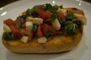 przepis na bruschettę z pomidorami