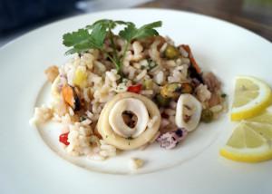Przepis na risotto z owocami morza